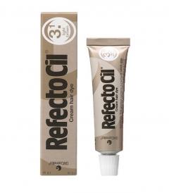Clamanti - Refectocil Cream Eyelash and Eyebrow Professional Tint Light Brown 15 ml