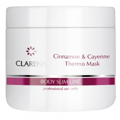 Clamanti - Clarena Body Line Cinnamon And Cayenne Thermo Mask 500ml