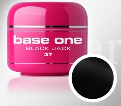 Clamanti - Silcare Base One UV Nail Gel Black Jack 5g