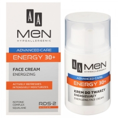 Clamanti - AA Men Hypoallergenic Advanced Care 30+ Energy Face Cream 50ml