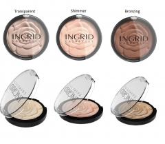 Clamanti - Verona Ingrid HD Beauty Innovation Transparent Shimmer Bronzing Powder 25g