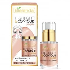 Clamanti - Bielenda Highlight and Contour Face Brightener Peach 15ml
