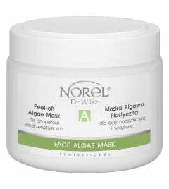 Clamanti - Norel Professional Peel Off Gel Mask for Sensitive and Couperose Skin with Vit C 250g