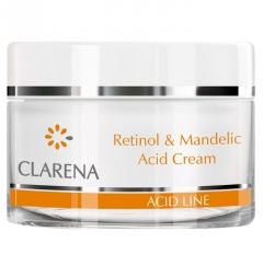 Clamanti - Clarena Acid Line Retinol and Mandelic Acid  Anti Wrinkle Brightening Night Cream 50ml