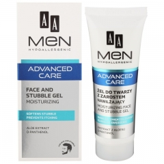 Clamanti - AA Men Advanced Care Face and Stubble Moisturising Gel 50ml