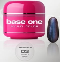 Clamanti - Silcare Base One UV Nail Gel Chameleon Purple Rain 5g
