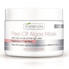 Clamanti - Bielenda Professional Peel Off Algae Mask for The Eye Area with Rose Petals 90g