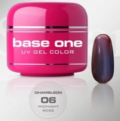 Clamanti - Silcare Base One UV Nail Gel Chameleon Midnight Rose 5g