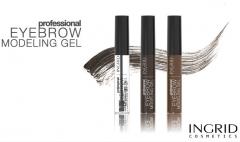 Clamanti - Verona Ingrid Professional Eyebrow Modelling Gel Light Brown Dark Brown Transparent 9ml