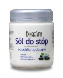 Clamanti - BingoSpa Feet  Bath Salt for Painful Swollen Feet Prone to Edema 550g