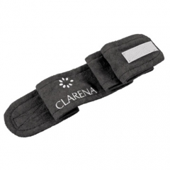 Clamanti - Clarena Terry Cloth Headband for Beauty Treatments, Spa, Home Use Black