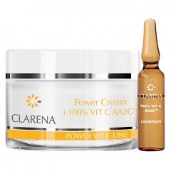Clamanti - Clarena Power Pure Vit C Cream 50ml + 1.5 ml of 100% Vitamin C