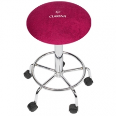 Clamanti - Clarena Terry Cloth Saddle Stool Cover AMARANTH Size L