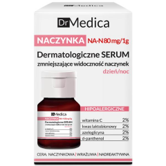 Clamanti - Bielenda Dr Medica Capillaries Dermatological Face Serum Reducing Skin Redness Day Night 30ml