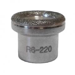 Clamanti - Microdermabrasion Diamond Heads Replacement for Diamond Peeling Gradation R6 220