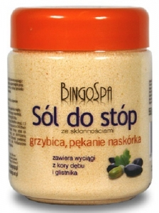Clamanti - BingoSpa Salt for Fungal Infection Athlete's Foot Cracking Between the Toes 550g