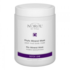 Clamanti - Norel Professional Detox Line Phyto Mineral Peat Mud Body Mask 1000ml