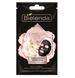 Clamanti - Bielenda Camellia Oil Luxurious Face Sheet Mask