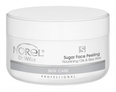 Clamanti - Norel Professional Skin Care Sugar Face Peeling  Nourishing Oils and Bee Wax 200ml