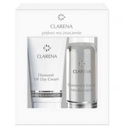 Clamanti - Clarena Diamond & Meteorite Mini Set Micellar Gel 15ml + Lift Day Cream 15ml