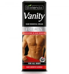 Clamanti - Bielenda Vanity Innovation in Instant Painless Body Hair Removal Cream for Men