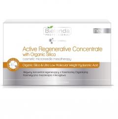 Clamanti - Bielenda Professional Active Regenerating Concentrate with Organic Silica 10x3ml