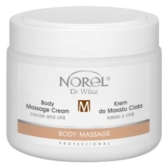 Clamanti - Norel Professional Body Massage Cream Cocoa and Chili 500ml