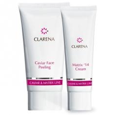 Clamanti - Clarena Caviar Matrix Mini Set Peeling 30ml + Cream 15ml
