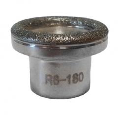 Clamanti - Microdermabrasion Diamond Heads Replacement for Diamond Peeling Gradation R8 180