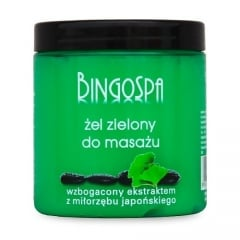 Clamanti - BingoSpa Green Massage Gel with Ginkgo Biloba 250g