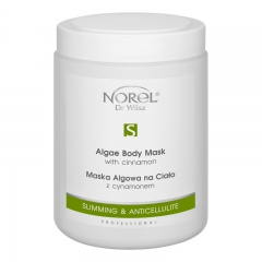 Clamanti - Norel Professional Slimming & Anticellulite Algae Body Mask with Cinnamon 1000ml