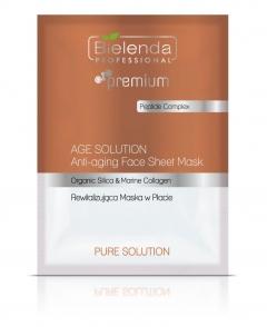 Clamanti - Bielenda Professional Age Solution Anti Ageing Face Sheet Mask 25g