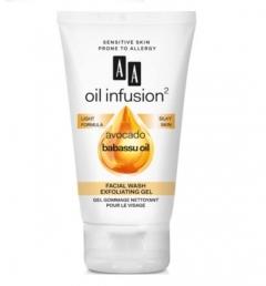 Clamanti - AA Oil Infusion Exfoliating Facial Wash Gel With Avocado and Babbasu Oil 150ml