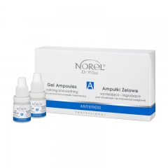 Clamanti - Norel Professional Antistress Soothing Ampoules for Sonophoresis and No-Needle Mesotherapy 4x5ml