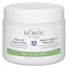Clamanti - Norel Professional Peel Off Algae Mask for Couperose Skin with Forest Fruit 250g