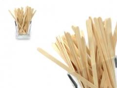 Clamanti - Small Wooden Spatulas For Waxing 100 pcs