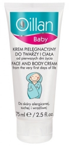 Clamanti - AA Oillan Baby Face and Body Cream for Allergic Dry and Sensitive Skin 75ml