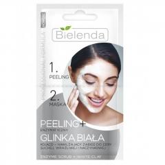 Clamanti - Bielenda Professional Formula Enzymatic Peeling and White Clay Mask 2 in1 2x5g