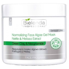 Clamanti - Bielenda Professional Normalizing Face Algae Gel Mask Nettle and Melisa Extract 200g