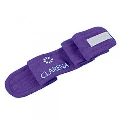 Clamanti - Clarena Terry Cloth Headband for Beauty Treatments, Spa, Home Use Blueberry