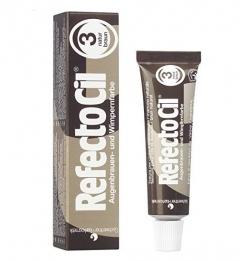 Clamanti - Refectocil Cream Eyelash and Eyebrow Professional Tint Natural Brown 15 ml