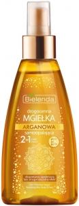 Clamanti - Bielenda Precious Argan Self Tanning No Streaks Bronzing Mist 2in1 Body and Face