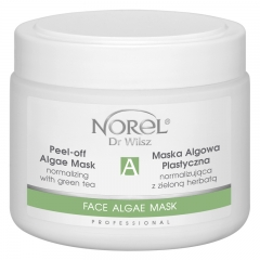 Clamanti - Norel Professional Peel Off Normalizing Algae Mask with Green Tea 250g