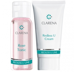 Clamanti - Clarena Redless U Travel Mini Set  Cream Vitamin U 15ml + Rose Tonic 30ml