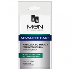 Clamanti - AA Men Advanced Care Hypoallergenic Anti- Acne Mask with White Clay and Hazel Extract 12ml