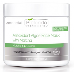 Clamanti - Bielenda Professional Super Foods Antioxidant Algae Face Mask with Matcha 200g