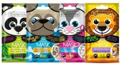 Clamanti - Bielenda Crazy Masks Moisturising Detoxifying Purifying Regenerating Panda Cat Pug Lion
