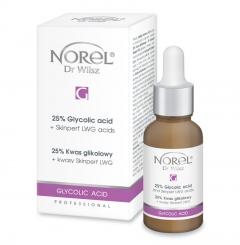 Clamanti - Norel Professional Exfoliation Treatment  25% Glycolic Acid + Skinperf LWG 30ml