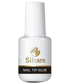 Clamanti - Silcare Nail Tip Glue with Brush 7.5g