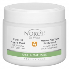 Clamanti - Norel Professional Peel Off Brightening Algae Mask with Gold Dust 250g